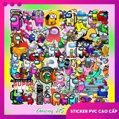 Sticker dán mũ bảo hiểm, laptop, vali, trang trí PVC chống nước đủ mẫu, cắt sẵn