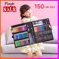(QUÀ TẶNG CHO CON YÊU ) Bộ bút màu vẽ đa năng cho bé bộ hộp bút chì màu 150 chi tiết cho bé yêu sáng tạo bo mau ve da nang bo but mau ve da nang cho be Tmark