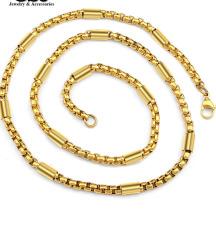 Dây chuyền nam ống trúc trơn 4 ly mạ vàng 24k thời thượng, hàng đẹp, mẫu mã mới về bán chạy, có đến 15 ngày đổi trả nếu hàng không giống hình