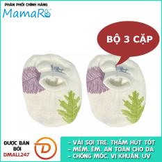 Bộ 3 cặp bao chân giữ ấm vải sợi tre cho bé mềm mại Mamaru MA-BC01 – Diệt khuẩn, hút ẩm tốt, kháng tia UV- Dmall247, mẹ và bé