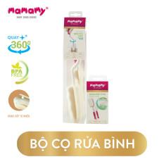 Combo 1 Cây Rửa Bình Sữa Mamamy + 1 Miếng Thay Thế Tiện Lợi An Toàn Cho Bé Mamamy