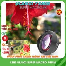 Ống kính Ulanzi super macro 75mm,lens macro 4K,siêu cận cảnh