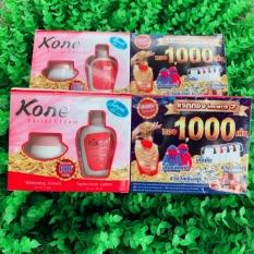 (mua10 TẶNG 1sữarửamặt )Kem kone' thái lan – kem nám tàn nhang Facial Crea Kone Thái Lan 2in1