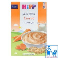 Bột Ăn Dặm Dinh Dưỡng HiPP Carot (Cà Rốt) Hộp 250g (Cho trẻ từ 6-36 tháng tuổi)
