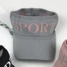 Nón Kết Len Nữ Đầu Sport, Mũ Nữa Đầu Thể Thao