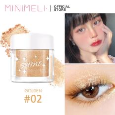 MINIMELI Phấn trang điểm bắt sáng sử dụng để bắt sáng dạng nhũ lấp lánh dùng được cho cả cơ thể (vui lòng chọn màu sắc phù hợp) – INTL