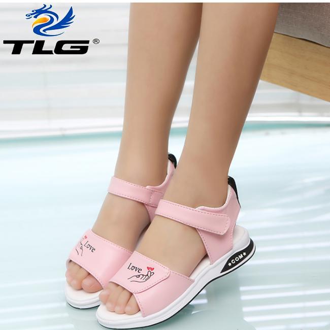 Sandal Hàn Quốc siêu dễ thương cho bé Đồ Da Thành Long TLG 20707