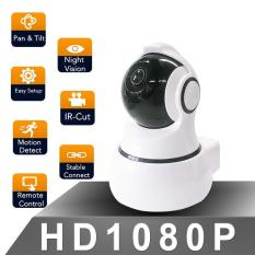 Camera thông minh-Indoor WiFi Camera-White Level: 350º; Vertical: 100º,w/ US standard adaptor and cloud storage function