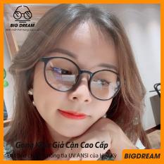 Gọng kính giả cận nam nữ cao cấp Hàn Quốc ViVo – Kính cận tròn không độ mẫu đẹp lạ BDTT – Bảo hành 12 tháng 1 đổi 1 – Tặng kèm túi đựng + Khăn lau