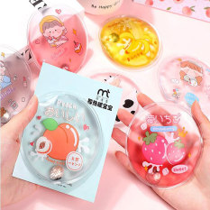 Legend 1Pcs Winter Reusable Gel Hand Warmer Cute Funny Word Print Instant Heating Pack