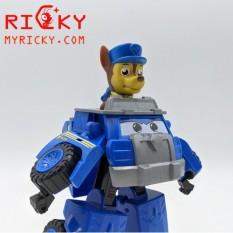 Xe Cảnh Sát Biến Hình Robot