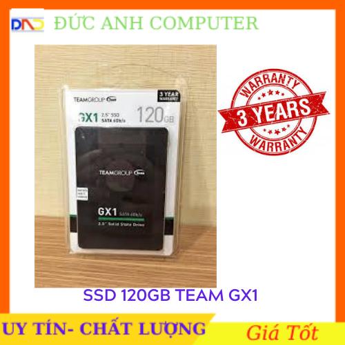 [Nhập NEWSELLERW503 giảm 10% tối đa 100K] Ổ cứng SSD Team Group GX1 120GB sata III 7mm 2-5″ sản phẩm tốt chất lượng cao cam kết hàng giống mô tả