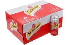 Nước ngọt soda gừng Schweppes Ginger Ale Sleek lon 330ml x 24