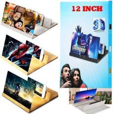 Kính phóng to màn hình điện thoại xem phim 3D 12 Inch cực chất ( sắc nét 100 % )