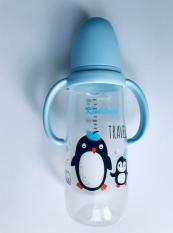Bình Sữa KICHI Nhựa PP Cổ Hẹp, Dung Tích 260ml (tặng van chống sặc) ,chất lượng đảm bảo an toàn đến sức khỏe người sử dụng cam kết hàng đúng mô tả
