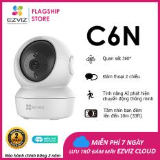 Camera WI-FI EZVIZ C6N-1080P, Smart IR Quan Sát Ban Đêm 10m, Trong Nhà Đàm Thoại 2 Chiều, theo Chuyển Động Thông Minh–Hàng Chính Hãng–Bảo Hành 24 tháng