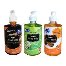 Bộ 3 bình nước rửa tay tiệt trùng Mr Fresh Korea 500ml (Nhiều hương tùy chọn) KL457