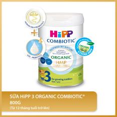 [FREESHIP] Sữa bột công thức HiPP 3 Organic Combiotic 800g