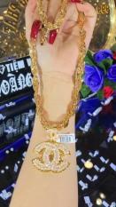 Dây Chuyền Nữ Chữ X – Chữ H – Cao Cấp Givi, Sáng Như Vàng Thật ( Cam Kết Không Đen, Không Ngứa, Chất Liệu Bạc Pha Hợp Kim Cao Cấp ) – Dây Chuyền Nữ Thiết Kế Givishop – D1705121 – Phù Hợp Với Mọi Lứa Tuổi, Sử Dụng Đi Tiệc