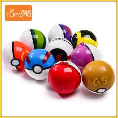 TUmama Kids[COD] Pokémon Đồ chơi mô hình pokemon bỏ túi Pokeball, Master ball, Siêu bóng, Bóng đóng thế, Quả bóng thời gian, Quả bóng tình yêu, Bóng GS, Bóng thi đấu, công viên, Bóng lặn, Chữa lành Pokeball Lớn 10cm (Nút đúng 1: 1)