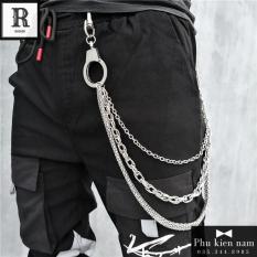 Xích quần Jeans – Chuỗi Triple Silver – Mã XQJ010