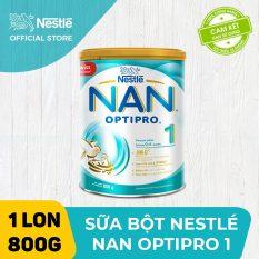 [FREESHIP 30K HCM&HN] Sữa bột Nestle NAN OPTIPRO 1 800g cho trẻ từ 0-6 tháng tuổi dễ tiêu hóa dễ hấp thụ hỗ trợ sức đề kháng hỗ trợ phát triển trí não và thị lực – HMO