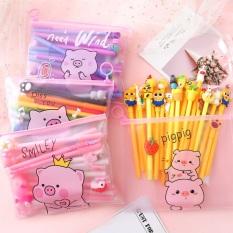 Bút Viết Nhiều Màu (Mực Đen – tặng Túi Zip)