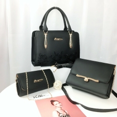 Combo bộ 3 túi xách nữ giá rẻ đẹp thời trang THEUHOA