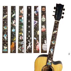 Miếng Dán Cần Đàn Guitar Giả Khảm Mẫu 2020 – Sticker Inlay Guitar