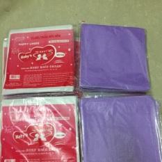 Tấm lót phân su tím 4 lớp Hiền Trang, tấm lót chống thấm