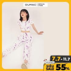 [CHỈ 22.8 GIẢM 15K CHO ĐƠN 150K] Quần dài thun loang màu thời trang GUMAC mẫu mới QB302