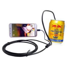 Camera nội soi CÁP CỨNG ĐỊNH HÌNH siêu nhỏ 5.5mm chống nước(IP67) cho Máy tính và Điện thoại (dài 5m)
