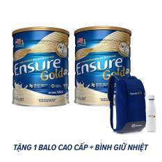 Bộ 02 Lon Ensure Gold 850g + Tặng Balo Thể thao cao cấp + Bình giữ nhiệt