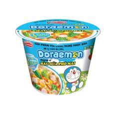 Mì Mini Doremon Hàu Sữa Phô Mai Ly 48G