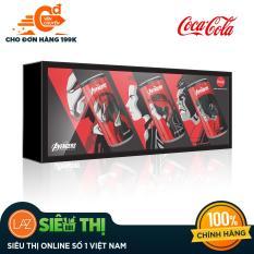 [Siêu thị Lazada] – Lốc 3 Lon Nước Giải Khát Coca Cola 330ml – Phiên bản Đặc biệt Avengers – Iron man, Hulk, Black Widow