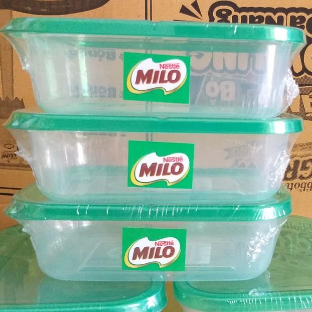 2 hộp Nhựa FoodPark Đại Đồng Tiến 630ml hkm Milo