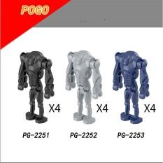 COMBO 4 Minifigures Chiến Bính Droid Trong Star Wars Mẫu Mới Ra PG2251-2253