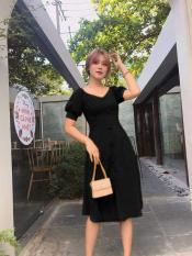 Đầm Voan Suông Cao Cấp Tay Phồng Thời Trang Gautier