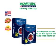 Combo 2 Hộp Viên uống tăng cường sinh lý nam giới Omexxel – Chính hãng Mỹ (Hộp 30 viên)