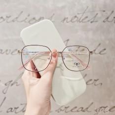 [Lấy mã giảm thêm 30%]Gọng kính cận kim loại mắt tròn Lilyeyewear 1013 nhiều màu một size