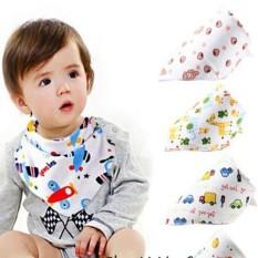 Khăn yếm tam giác cotton 2 lớp có nút bấm tiện lợi cho bé, YẾM CHO BABY, SHOP TIỆN ÍCH 86