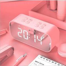 Loa bluetooth BT501 trang trí cao cấp tích hợp đồng hồ để bàn – bảo hành 12 tháng