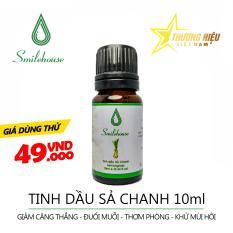 Tinh Dầu Sả Chanh Smilehouse – 10ml – giảm căng thẳng, đuổi con trùng độc hại, thơm phòng TDS