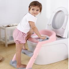 Thu hẹ bồn cầu cho bé, lót bồn cầu, Nắp bồn cầu có thang đi vệ sinh cho bé bệ ngồi toilet trẻ em loại không lót đệm ngồi, thu nhỏ bồn cầu, bậc thang bồn cầu, bệ ngồi bồn cầu, thu hẹp bồn cầu cho trẻ