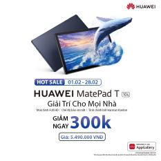 TRẢ GÓP 0% | Máy tính bảng Huawei MatePad T10s (3GB/64GB) | Màn hình Full HD | Chế độ bảo vệ mắt | Tinh chỉnh bởi Harman Kardon