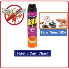 Bình Xịt Côn Trùng Raid 600ml (Hương Cam Chanh)