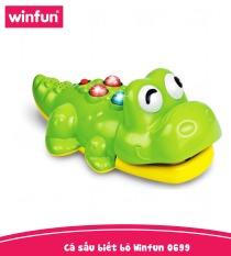 Cá sấu cho bé biết bò có nhạc Winfun 0969 – Hàng chính hãng