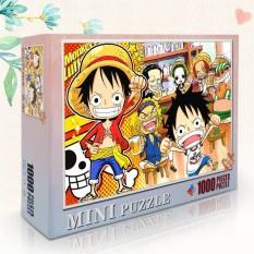 [ToyStory] Bộ Xếp Hình 1000 Miếng One Piece Size 38x26cm Lắp ráp Hình Tranh Treo Tường Luffy Mảnh Ghép
