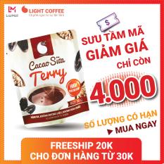 [SƯU TẦM MÃ] Bột Cacao sữa hòa tan 3 in 1 Terry Light Cacao thơm ngon và tiện lợi, dùng pha uống ngay , đặc biệt không pha trộn hương liệu – gói 50g
