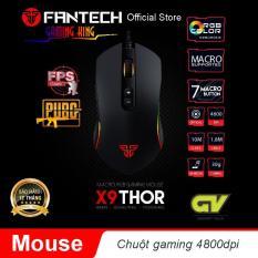 Chuột gaming Macro RGB 4800dpi với 7 chế độ tùy chình Fantech X9- Hãng Phân Phối Chính Thức